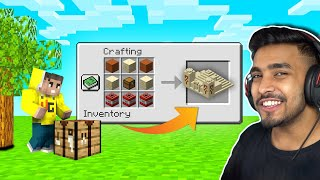 MINECRAFT, BUT WE CAN CRAFT STRUCTURES