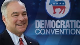 Tim Kaine Officially Wins Democratic VP Nominee