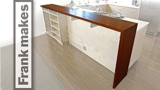 Kitchen Remodel: Part 15: Breakfast Bar – Part B