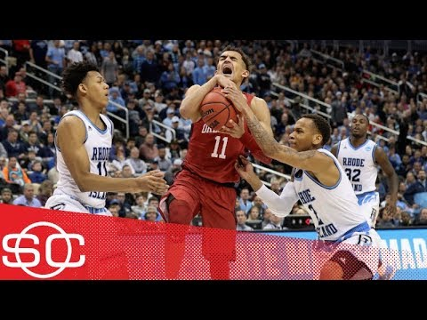 Trae Young, Oklahoma fall out of NCAA tournament with OT loss to Rhode Island | SportsCenter | ESPN