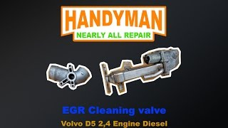 EGR Cleaning valve - Volvo D5 2,4 Engine (S60,V70,S80,XC90)