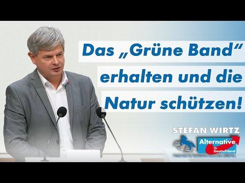 """Das """"Grüne Band"""" erhalten und die Natur schützen! Stefan Wirtz, MdL (AfD)"""