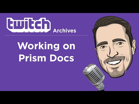 Working On Prism Documentation