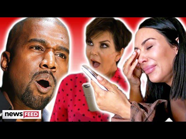 Kanye West Puts Kim Kardashian & Kris Jenner On Blast During Twitter Tirade