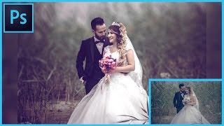 How I Edit Wedding Photo Without No Plugins - Photoshop CC - In Hindi