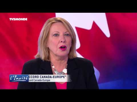 "Christine ST-PIERRE : ""Pour l'accord Canada-Europe"""
