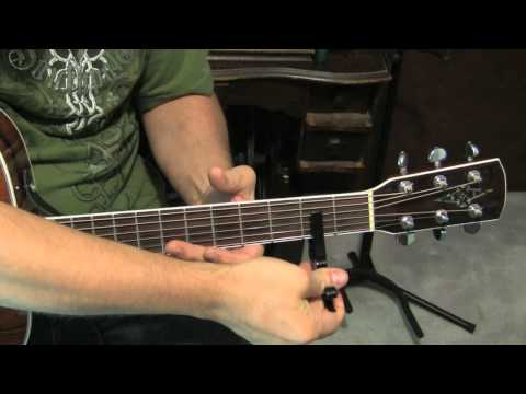 """""""Higher Ground"""" Hymn: Contemporary Arrangement With Cool Chords- Guitar Tutorial"""