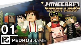 Pedro | Minecraft Story Mode | E01 - EnderCon | PC | CZ/SK
