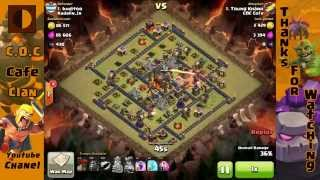 Clash of Clans - COC Cafe - Trung Khanh vs top 1 - Kadalin