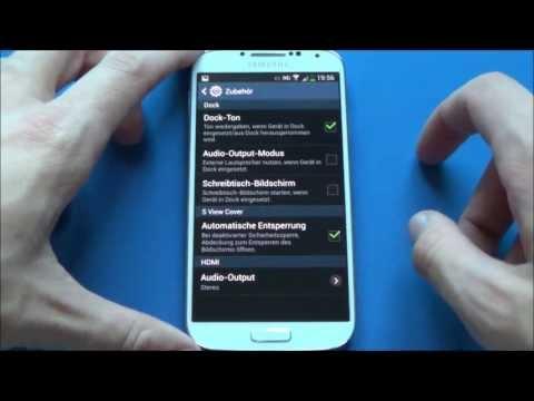 Samsung Galaxy S4 - Einstellungen/settings