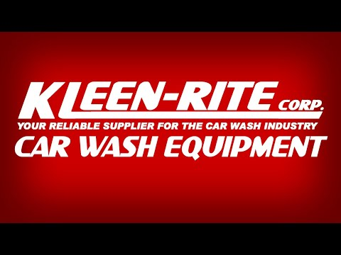 Kleen-Rite Car Wash Equipment Supplier