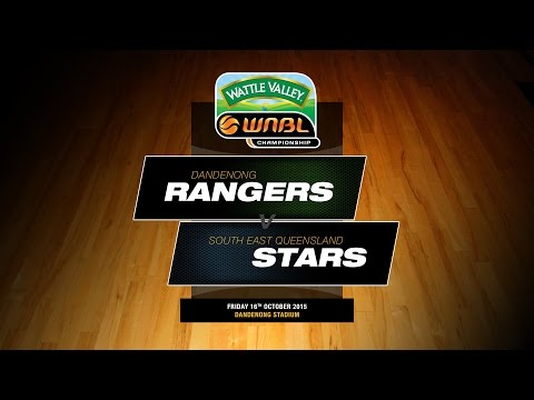 WNBL 2015/2016 Round 2 - Dandenong Rangers Vs South East Queensland Stars
