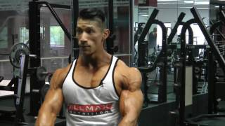 BIS  DELTS WORKOUT WITH IFBB PRO John Nguyen