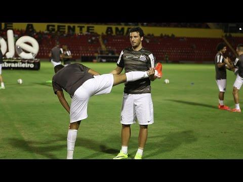 Sport 2 x 1 Santos | BASTIDORES | Copa do Brasil (20/05/15)