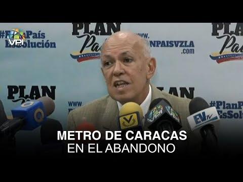 Caracas - Metro de Caracas en el abandono - VPItv