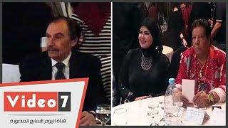 """عزت العلايلى وشعبان عبد الرحيم يشاركان فى احتفالية """"عيد الأب"""""""