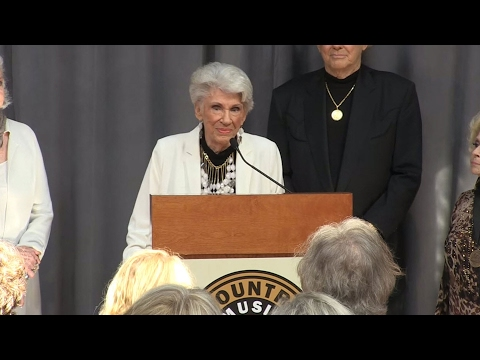 Country Music Hall of Fame Induction Announcement 2015 | CMA