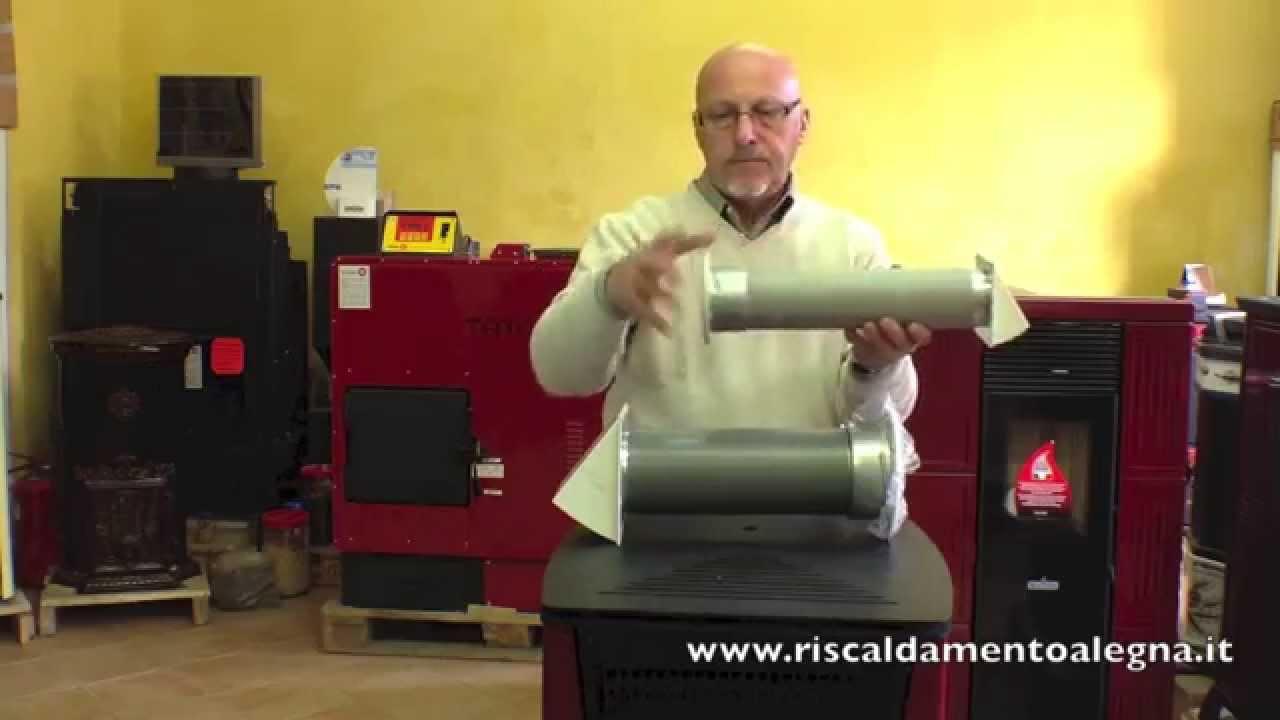 Tubi Aria Calda Stufa Pellet tubo presa aria stufa pellet – stufa a pellet