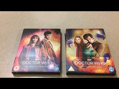 Doctor Who Series 5 Steelbook Blueray Review!