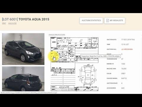 Покупка автомобиля с аукциона Японии. Часть 2. Делаем ставки, переводим аукционные листы, цены.