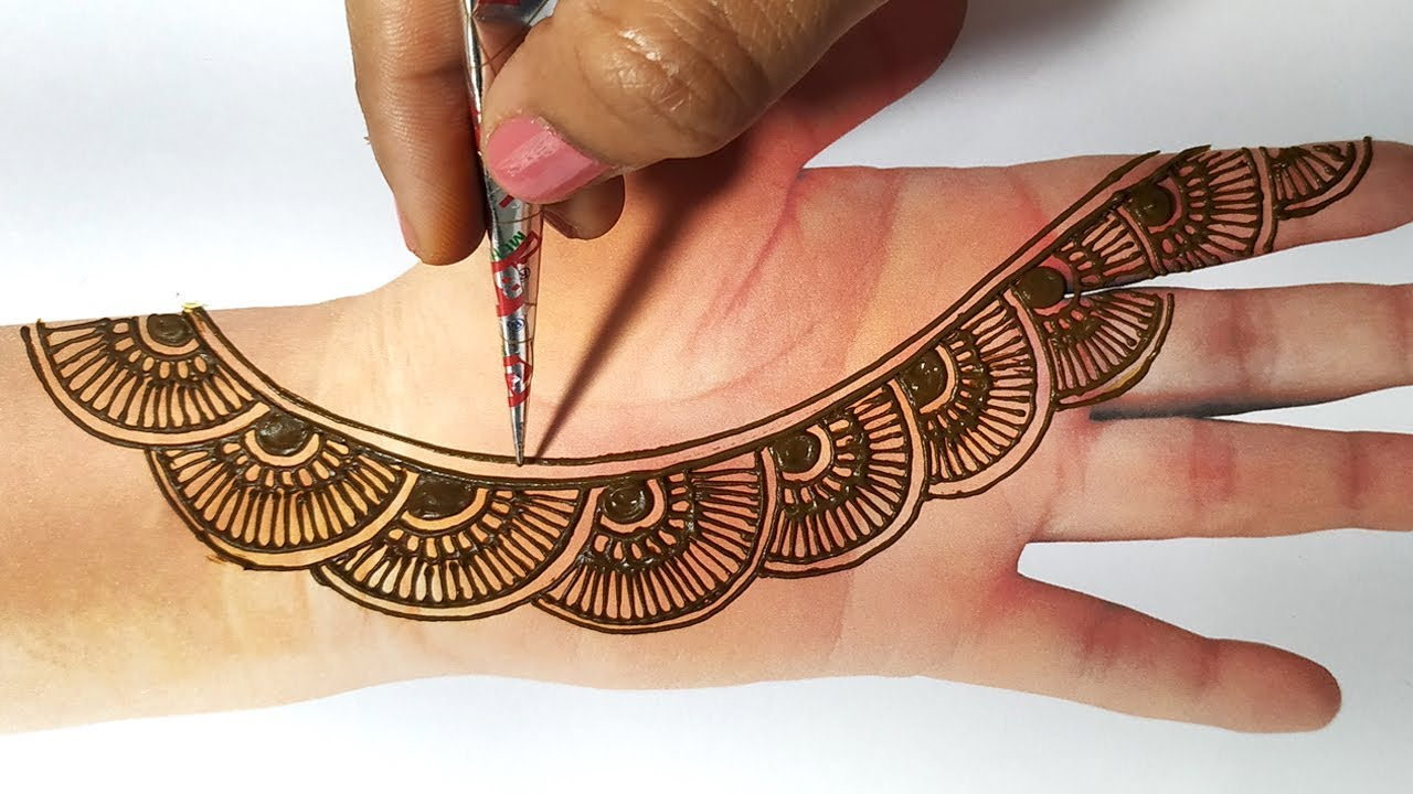 Trending Mehndi Designs 50 Latest Henna Tattoo Ideas For 2018: Latest Mehndi Design For Front