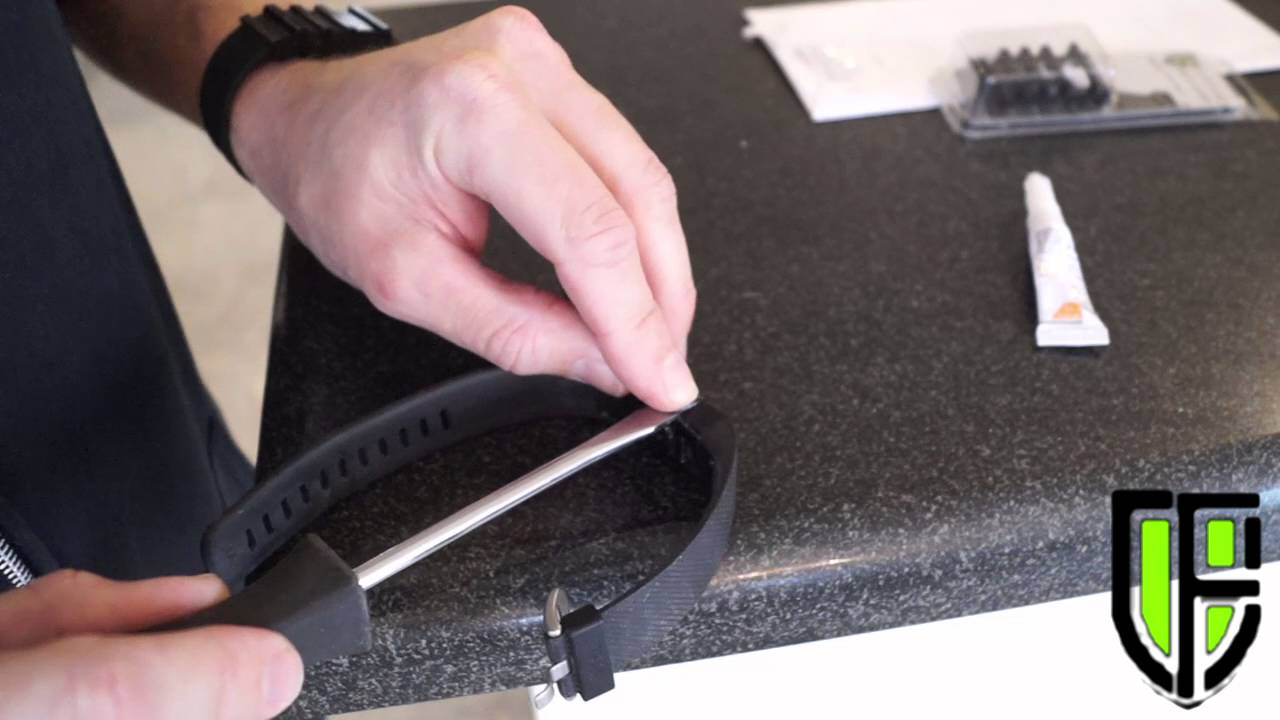 how to replace fix band on a surge fitbit