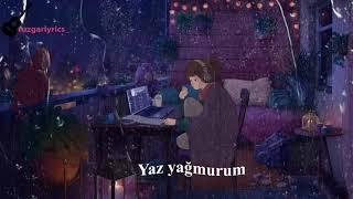 Şehinşah-Yaz Yağmurum (Lyrics)