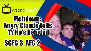 Meltdown: Angry Claude Tells TY He