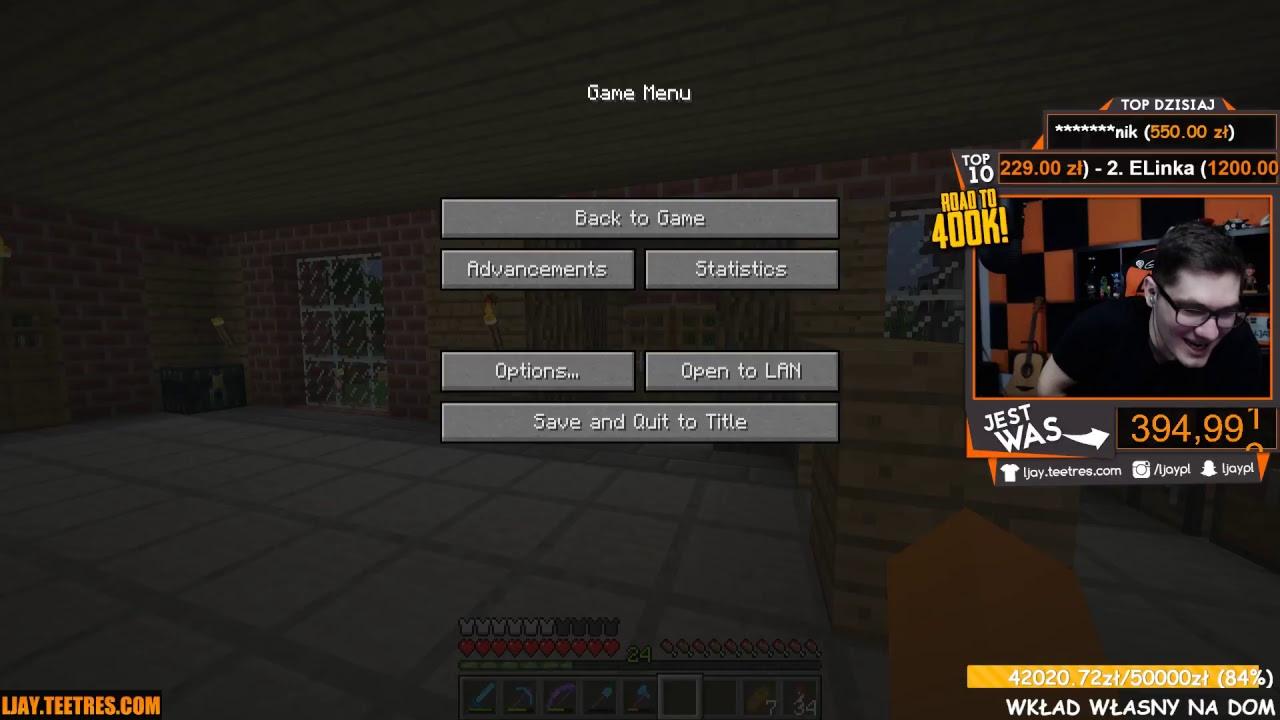 """Minecraft #298 –  """"Zapis live, wojna donejtów!"""""""