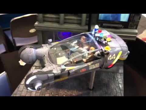 1 24 blade runner spinner car youtube. Black Bedroom Furniture Sets. Home Design Ideas