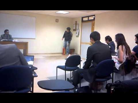 Clase de Derecho Laboral (Escuela Libre de Derecho)