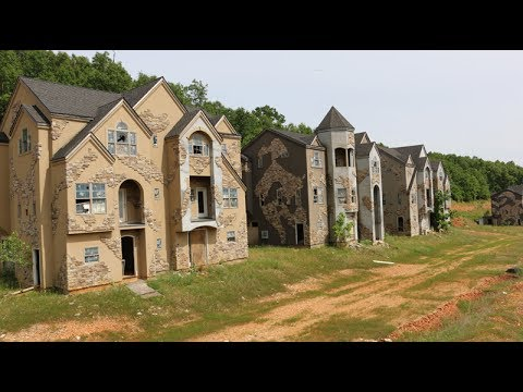 abandoned mcmansions video shows what
