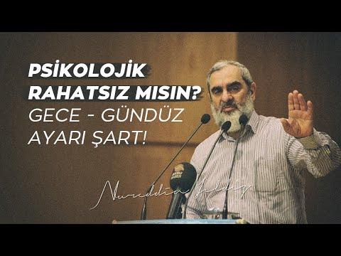 PSİKOLOJİK RAHATSIZ MISIN? GECE - GÜNDÜZ AYARI ŞART! | Nureddin Yıldız