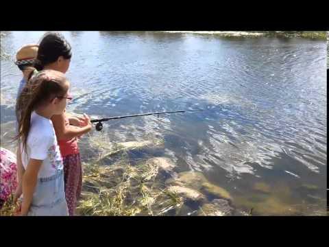 фото на рыбалке дети