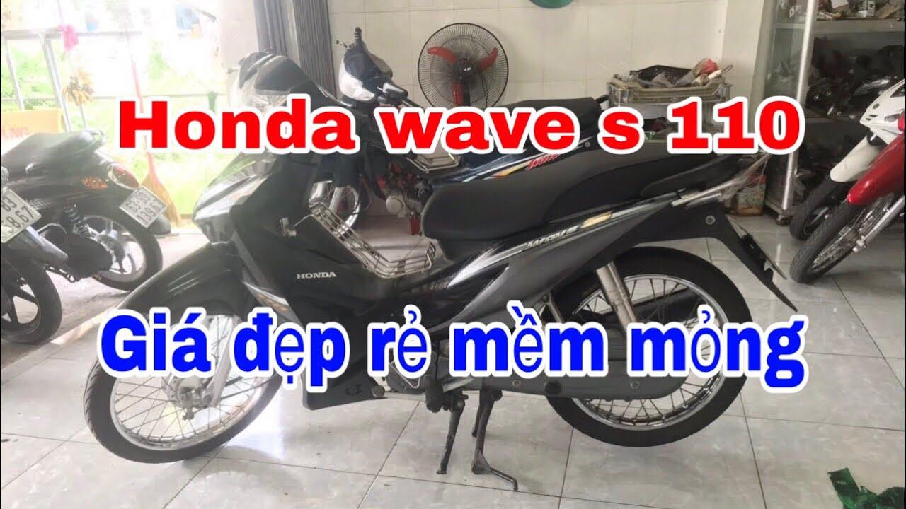 Xe Honda Wave S 110 Thế hệ thứ hai Giá Đẹp Rẻ Mềm Mỏng Lét
