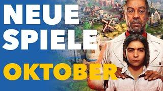 Jetzt kommen endlich die großen Spiele-Blockbuster! - Release-Vorschau für Oktober