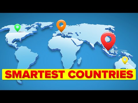 Smartest Countries Around the World