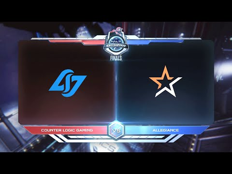 CLG vs Allegiance | Halo World Championship 2016 GRAND FINAL - 1 MILLION PRIZE HD 1080p Gameplay