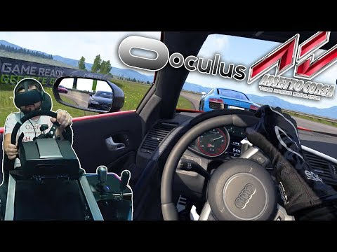 Assetto Corsa в VR - ЭТО А#%ЕННО! Audi R8 V10 Plus - Highlands of Scotland