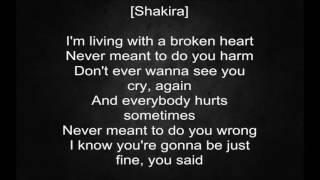 black m shakira comme moi vidéo lyrics paroles 1