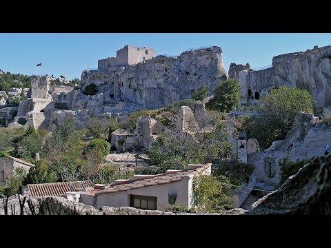 Travel France - les Alpilles - Baux-de-Provence, Glanum, St Remy