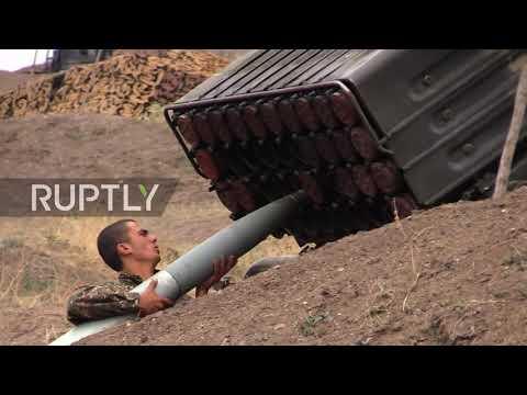 Nagorno-Karabakh: Azeri-Armenian clashes hit Martuninsky district