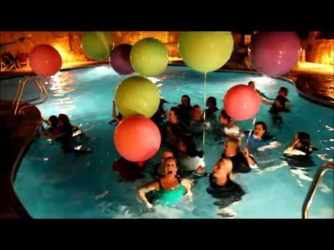EVO Pool Jumping Party Tradition