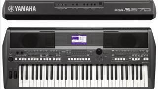 Styles Medley Yamaha PSR-S670