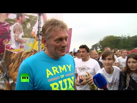 Дмитрий Песков поучаствовал