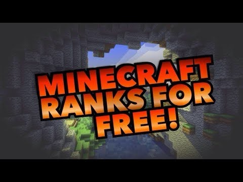 How To Get Free Minecraft Ranks On Any Server Free Ranks It