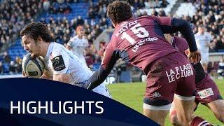 Bordeaux-Bègles v Exeter Chiefs (Pool 2) Highlights – 16.01.2016