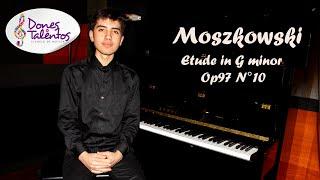 Moszkowski   Etude in G minor Op97 No10 - Miguel Angel Albarracin