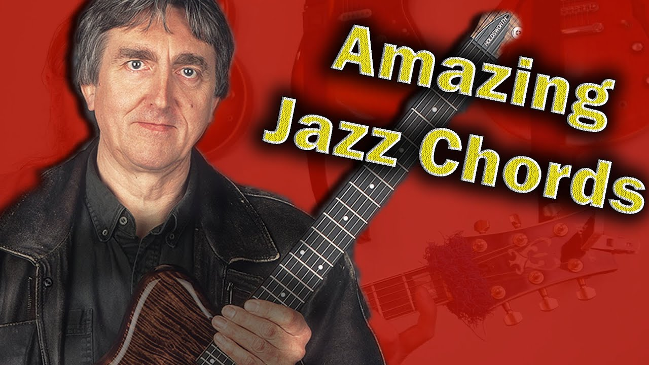 Allan Holdsworth Modal chords - You can add new textures to your