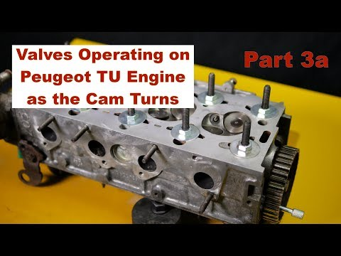 Peugeot 106 Part 3a Camshaft To Valve Opening & Closing Timing On TU Engine